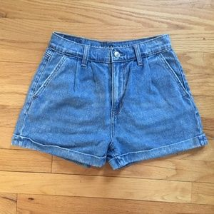 American Eagle High-Waist Jean Shorts